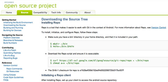 Android 4.0 Ice Cream Sandwich Source Code Available