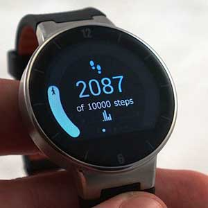 Alcatel Smartwatch that works with both Android and iOS